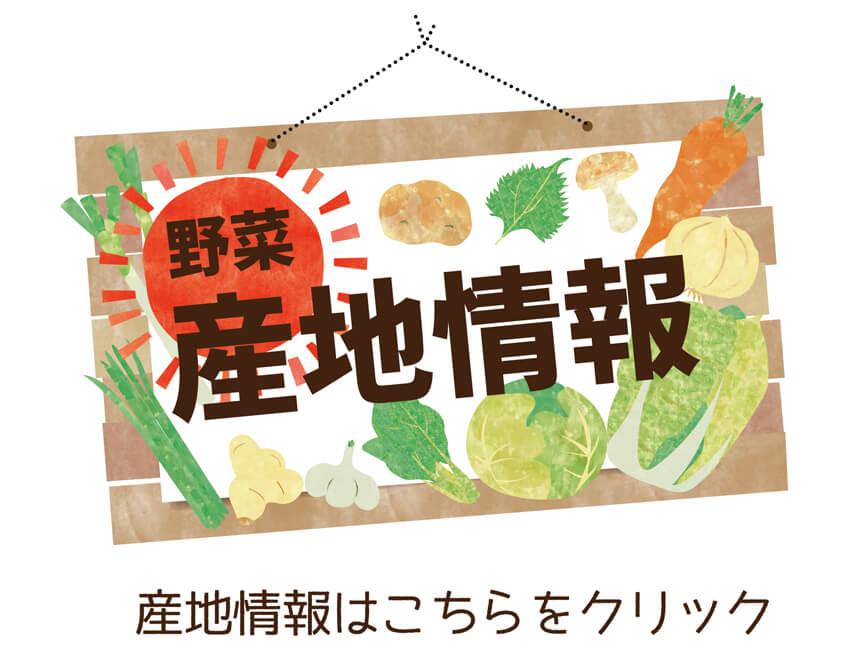 ギョウザに使われている国産野菜の産地情報